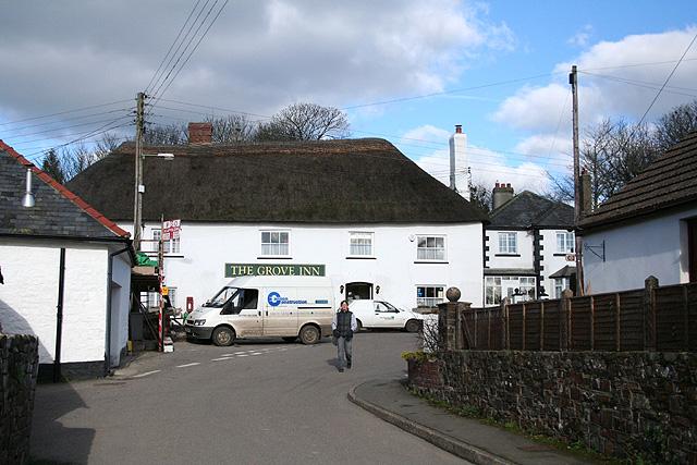 King's Nympton: Grove Inn