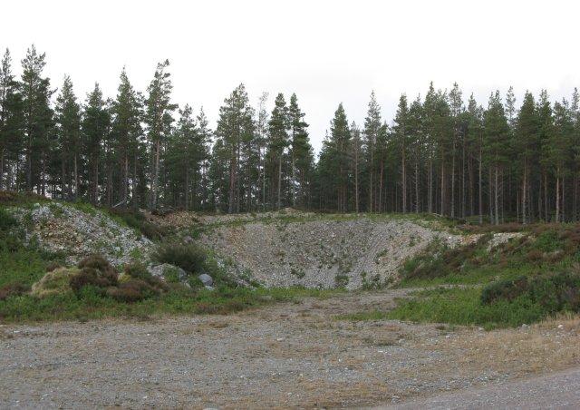 Quarry, Inshriach Forest