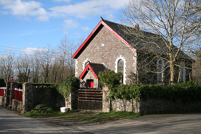 King's Nympton: the Methodist church