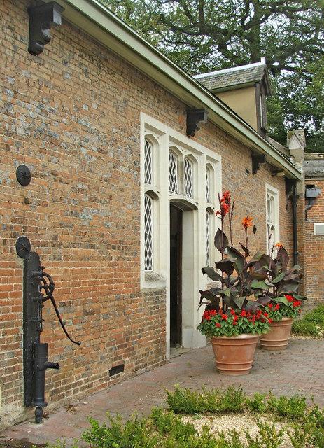 Entrance to Old Stables, Ashridge