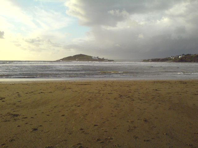 Burgh Island from the beach at Bigbury/Bantham