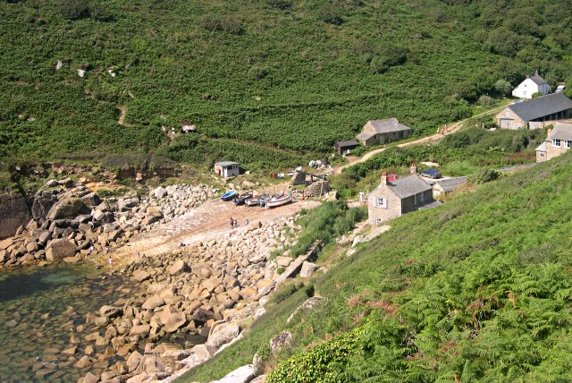 Penberth Cove from the East