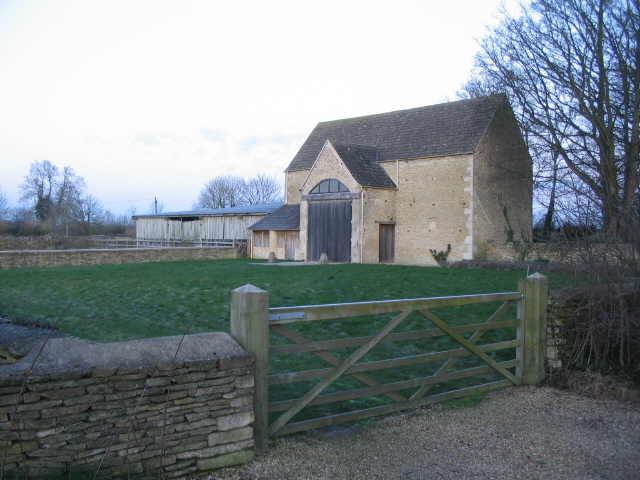 Converted barn at Hookshouse