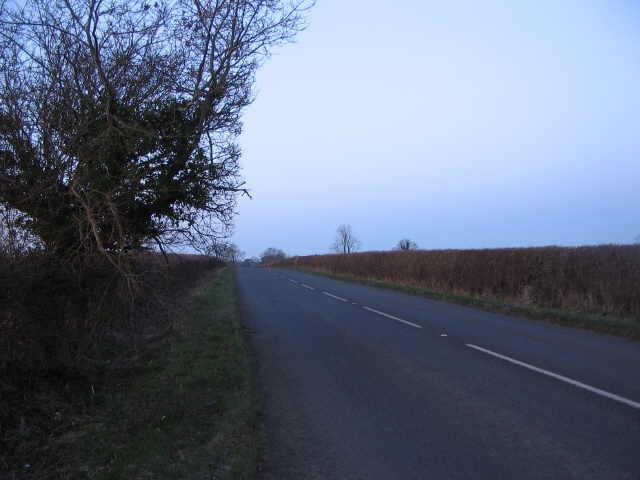 The A433  near Tetbury