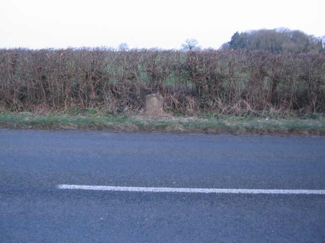 Milestone near Tetbury