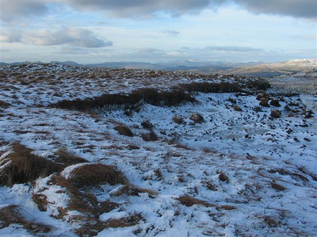 Icicles on Cribin Fawr