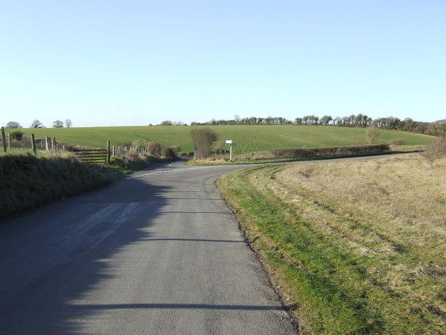 Riding Lane junction