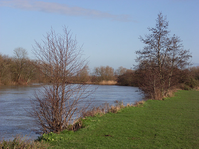 The Thames east of Reading