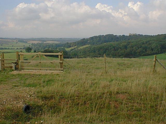 Silverhill view towards Hardwick Hall