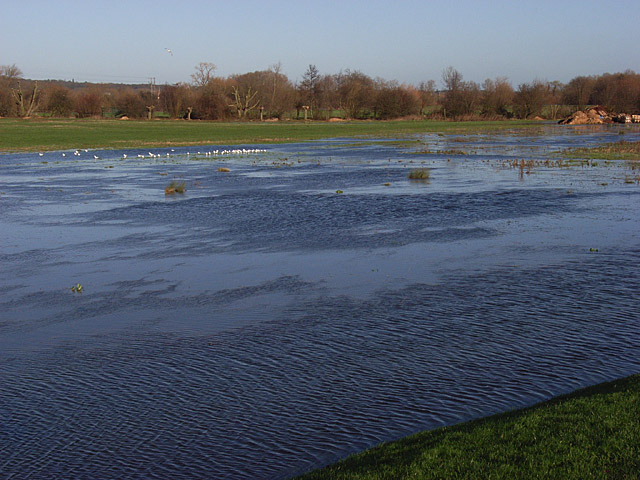 Flooding, Thames Valley Park