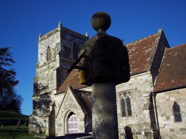 Sundial at All Saints Church