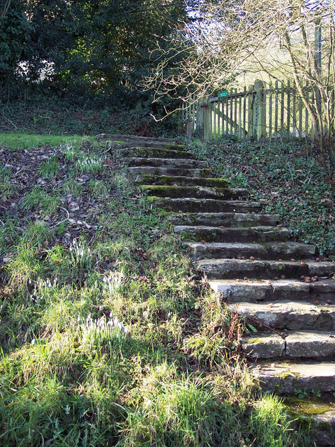 Steps leading to All Saints Church