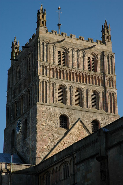 The Tower of Tewkesbury Abbey