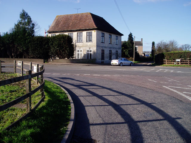 House on the A38 at Moreton Valence