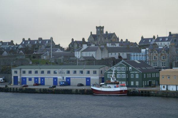 Alexandra Buildings and Fort Charlotte, Lerwick