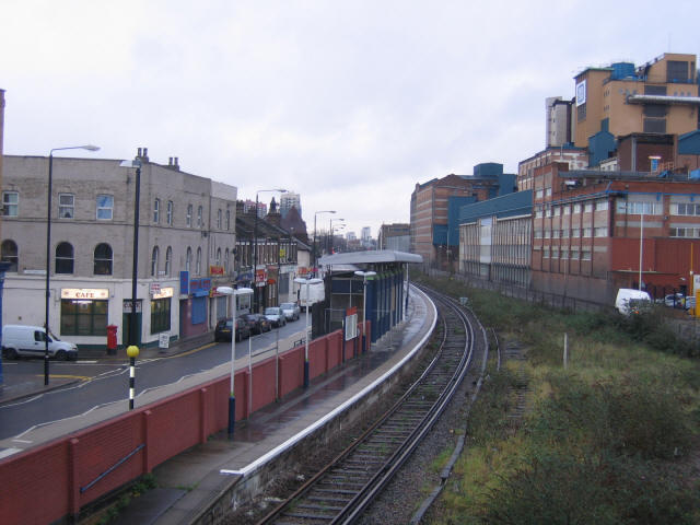 Recently closed station, Silvertown