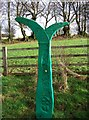 SX5186 : NCN sign on the Granite Way by Derek Harper