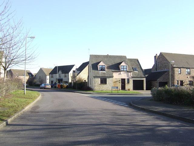 Witney housing estate