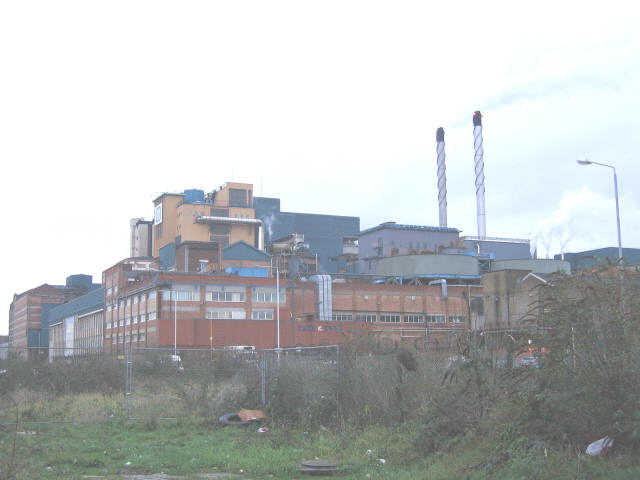 Tate & Lyle factory from the north-west