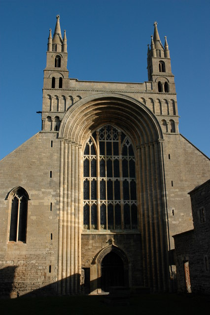 The west front, Tewkesbury Abbey