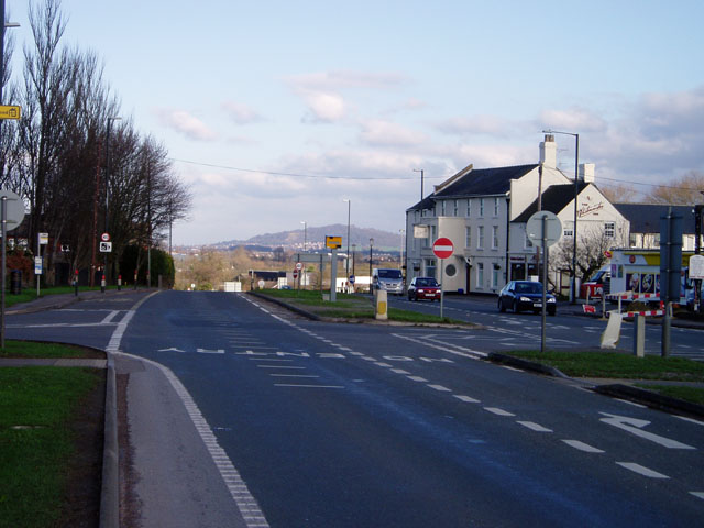 Whitminster crossroads on the A38