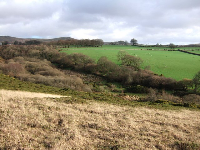 Valley between Fernworthy and Battishill Downs
