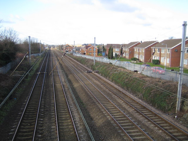 Luton to Leagrave railway line