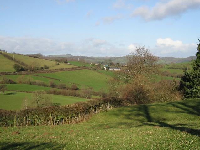 A View Towards Pentre