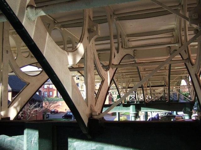 Underneath the Iron Bridge, Exeter