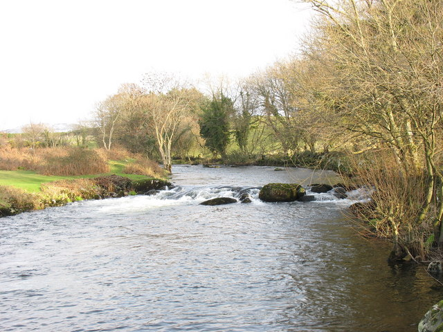 Lower part of the Rhyd Feiniog rapids
