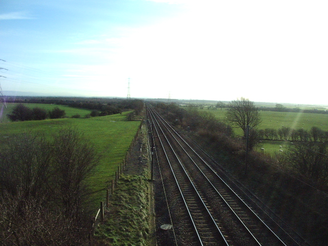 The London to Glasgow railway