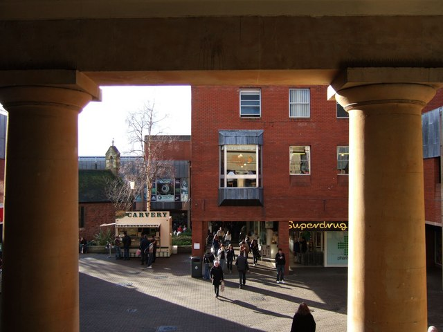 Guildhall shopping centre, Exeter