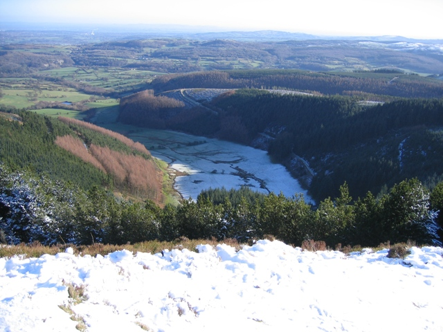 Cwm Llydan from Above.