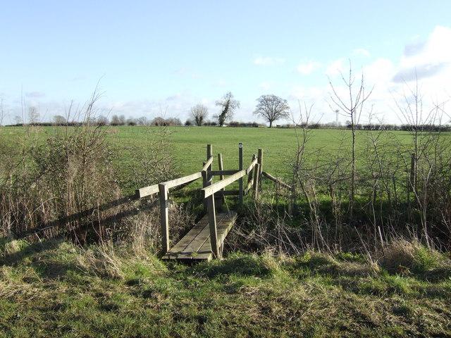 Footpath to Glebe Farm