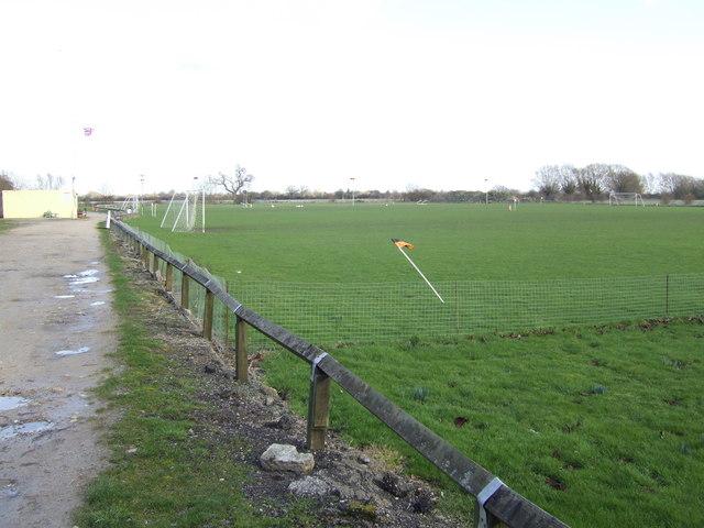 Bampton football ground.