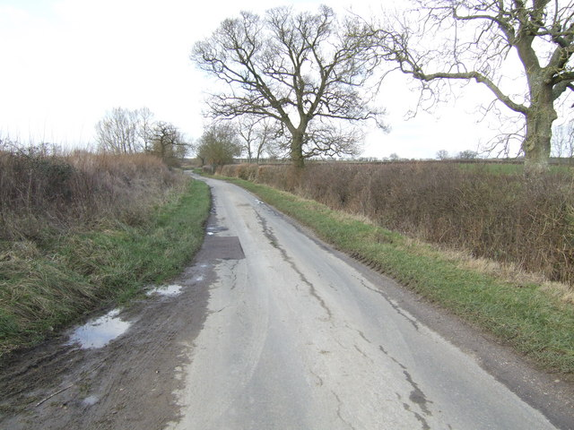 Oxfordshire lane