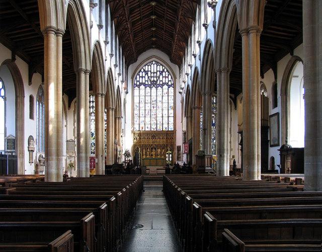 St Peter Mancroft, Norwich - East end