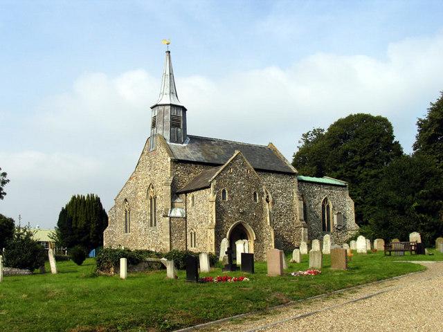 St Mary, Hellesdon, Norfolk