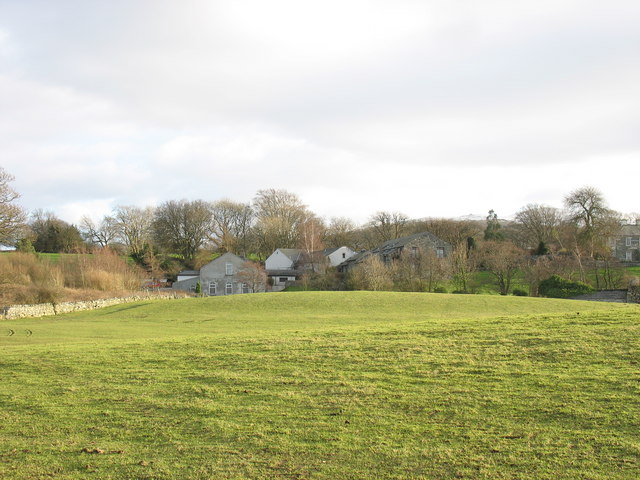 Pasture land below the Seiont Manor Hotel