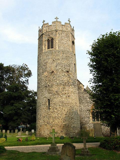 St Edmund, Taverham, Norfolk - Tower