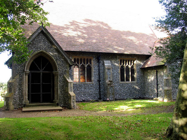 St Helen & All Saints, West Beckham, Norfolk - Porch