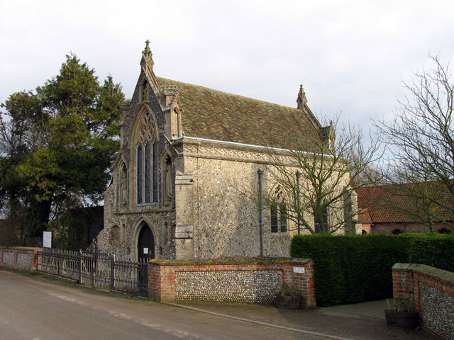 Slipper Chapel, Houghton St Giles, Norfolk