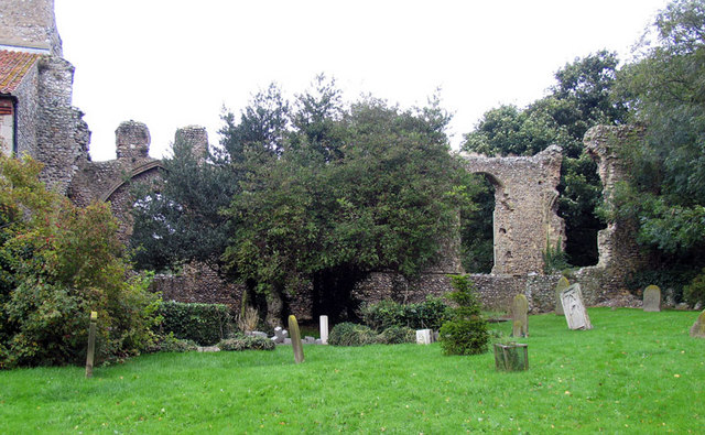 All Saints, Weybourne, Norfolk - Priory Ruins
