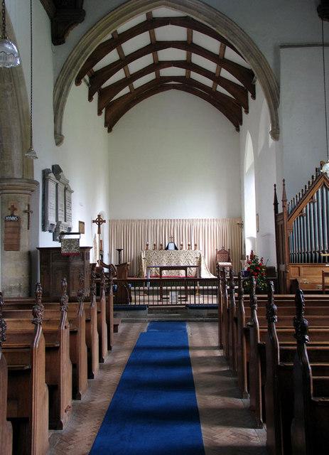 All Saints, Weybourne, Norfolk - East end