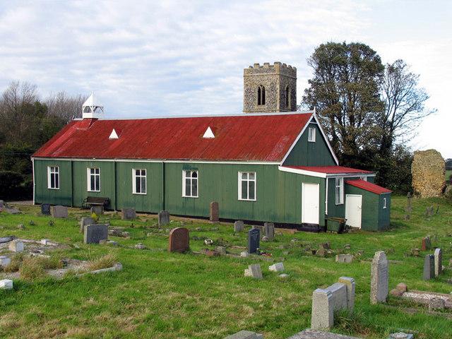 St Mary, Burgh Parva, Norfolk (Tin Tabernacle)
