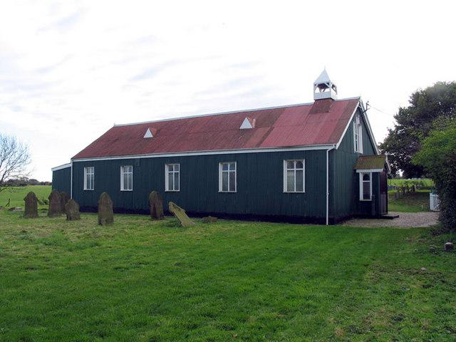 S Mary, Burgh Parva, Norfolk (Tin Tabernacle)