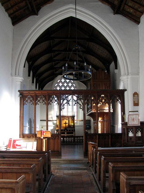 All Saints, Briston, Norfolk - East end