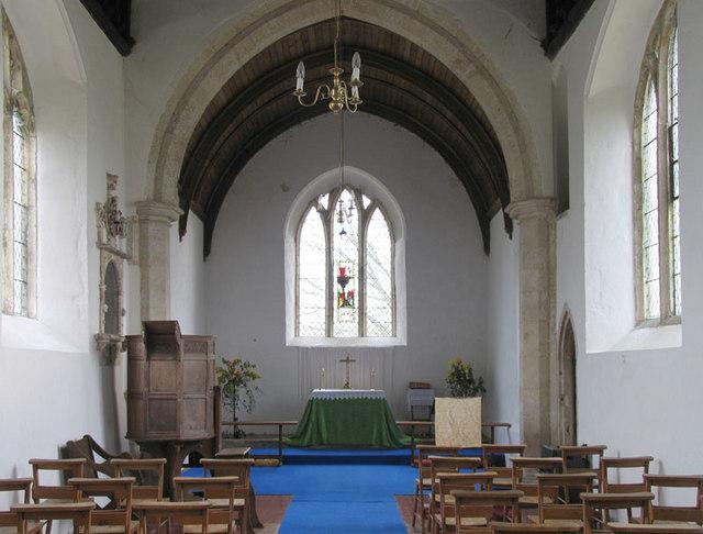 All Saints, North Barsham, Norfolk - East end