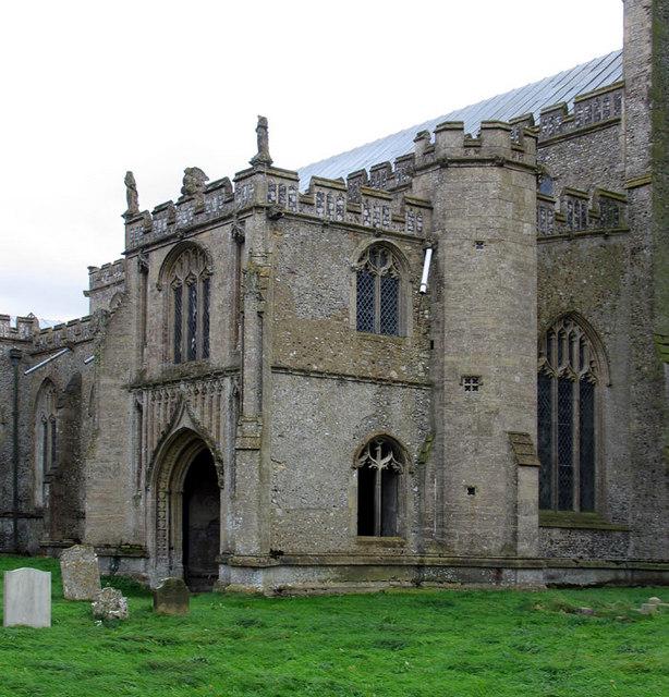 St Peter & St Paul, Salle, Norfolk - Porch