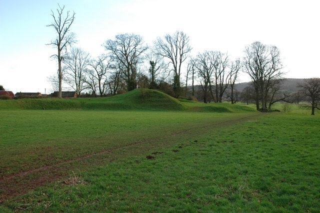Site of Weobley Castle